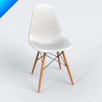 Vitra DSW Eames Plastic Side Chair